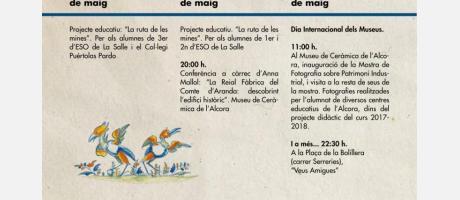 Dia Internacional de los Museos al Museu de Ceràmica de l'Alcora