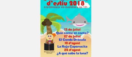 Contacontes d'estiu 2018 EPNDB