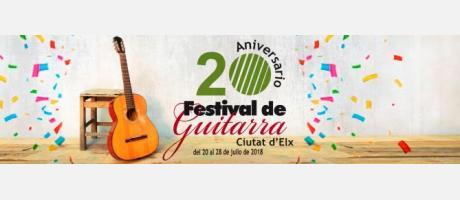 """XX Festival de Guitarra """"Ciutat d'Elx"""""""