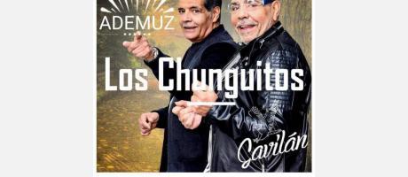 concierto de LOS CHUNGUITOS