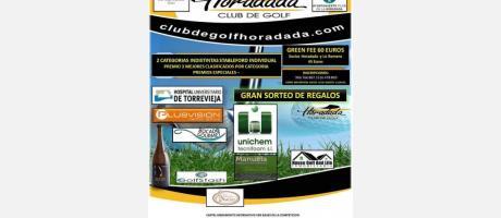 XXI Open de Golf Ayuntamiento de Pilar de la Horadada