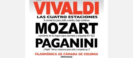 Concierto de la Filarmónica de Camara de Colonia