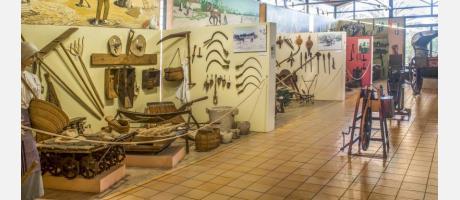 Una de las salas de exposiciones