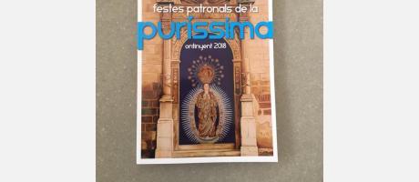 FIESTAS PATRONALES DE LA PURÍSIMA