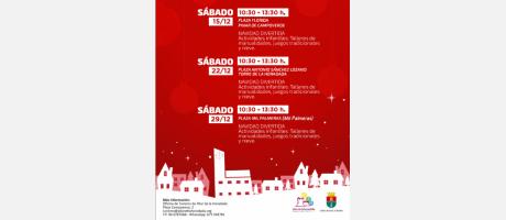 Actividades infantiles en Pilar de la Horadada