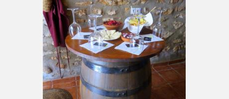 Cata de vinos en bodega