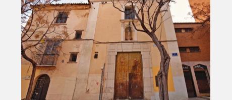 Fachada del Convent del Carmen