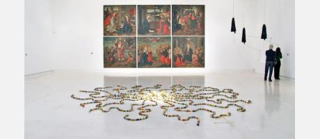 Sala de exposiciones en el IVAM