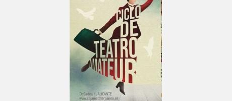 Campaña de Teatro Amateur del Mediterráneo Alicante 2019, teatro, fundación caa