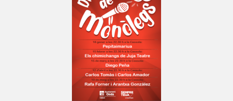 VIERNES DE MONÓLOGOS