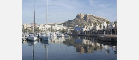 puerto deportivo Alicante