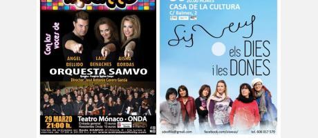 Cartel conciertos Onda 2019
