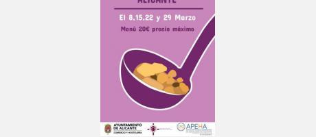 Jornadas Gastronómicas de Cuaresma 2019