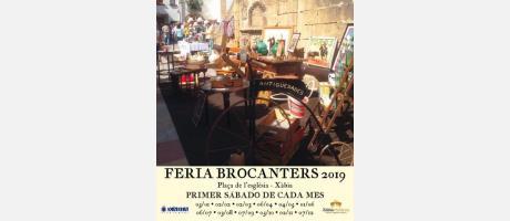 Cartel Fira Brocanters Alacant