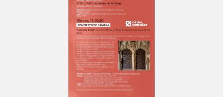 Programa Lucrecia y María, Duquesas del Territorio Borgia 2