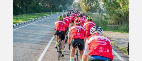 Marcha Ciclista de la CIudad de València junio, 2019