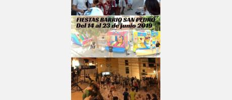 FIESTAS BARRIO SAN PEDRO 2019