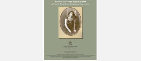cartel de la exposición Remedios Picó