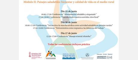 Conferencias módulo II