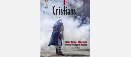Programa de Moros y Cristianos de San Blas. Alicante 2019