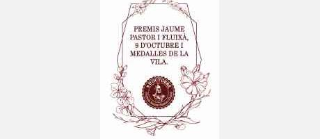 PREMIOS JAUME PASTOR I FLUIXÀ