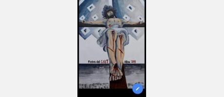 Cartel Cristo del Sagrario