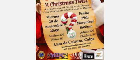 "SIPBE EN COLABORACIÓN CON MARCIA'S DANCE CENTRE PRESENTA ""A CHRISTMAS TWIST"" A B"