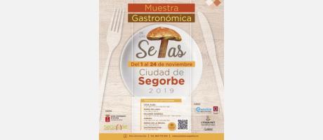 Cartel Muestra Gastronómica de las Setas de Segorbe