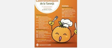 Jornadas Gastronómicas de la Naranja 2019