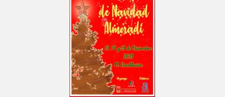 Cartel de la Feria de Navidad en Almoradí 2019
