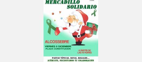 Mercadillo Solidario AECC