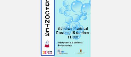 "Bebecuentos: ""Bombolles"" EPNDB"
