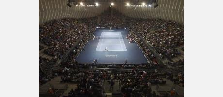El Ágora, ein fabelhafter Schauplatz für das Turnier des Valencia Open 500