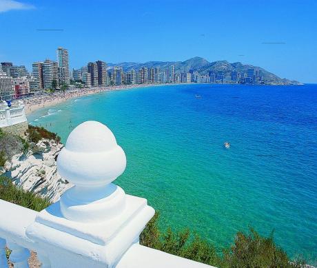 Benidorm desde El Mirador del Mediterráneo