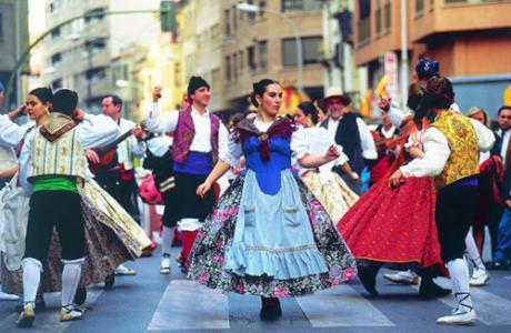 Cabalgata del Pregó Fiestas de la Magdalena