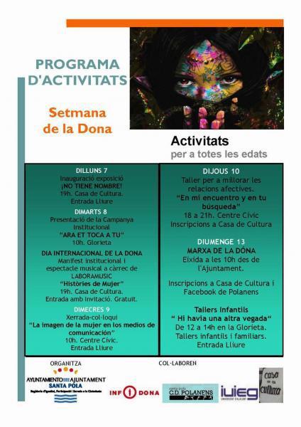 Activitats Semana de la Dona