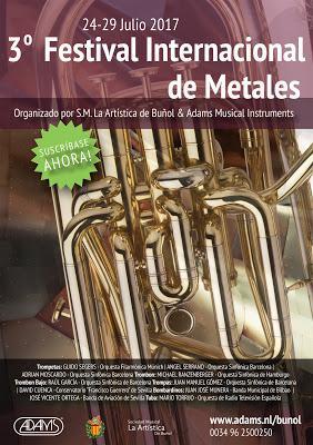 III Festival internacional de metales Buñol