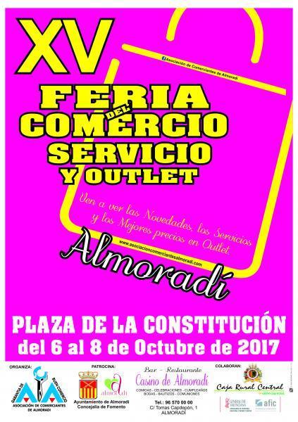 Cartel Promocional de la  XV Feria de Comercio Almoradí