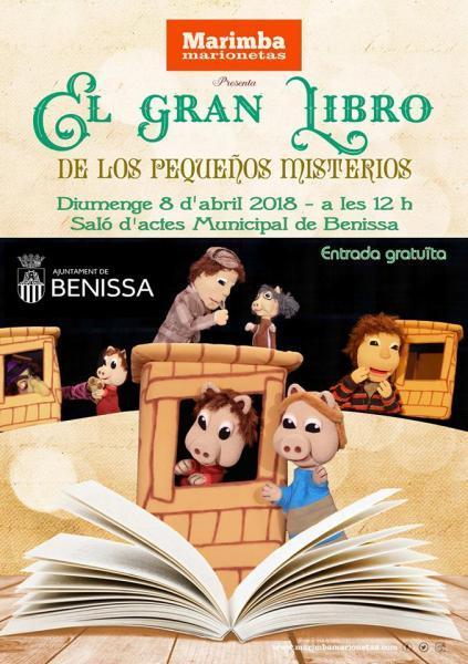"""Teatro infantil """"El gran libro de los pequeños misterios"""""""