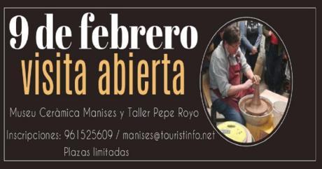 cartel informador con una imagen de Pepe Royo torneando