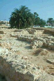 Imagen de restos arqueológicos La Picola, en Santa Pola, Comunitat Valenciana