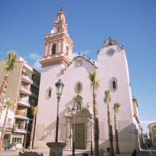 Photo: The Church of San John the Baptist Manises