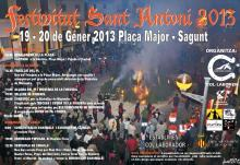 Img 1: Fiestas de San Antonio Abad. Sagunto 2013
