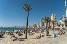 Playa de Levante desde el Rincón de Loix - Benidorm
