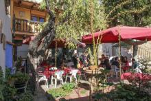 Comida junto al castillo de Morella en el Restaurante Marqués de Cruïlles