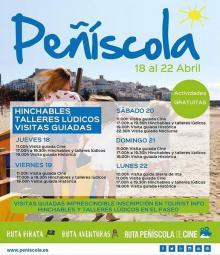 Calendario de visitas guiadas Abril - Peñíscola