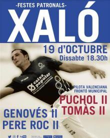 Pelota Valenciana Xalo 2019