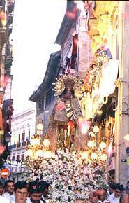The Mare de Déu dels Desamparats Festivity