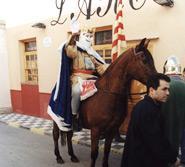 Rei Pàixaro, in honour of San Antonio Abad