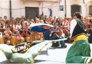 Moors and Christians in honour of the Mare de Déu dels Desemparats